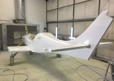 Lancair Legacy Custom Airplane Paint Job
