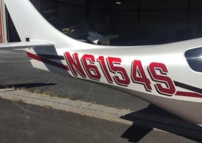 Lancair Legacy Custom Aircraft Paint Job