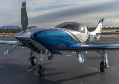 Lancair Legacy Paint Job