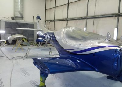 Lancair Legacy Custom Aircraft Paint Job