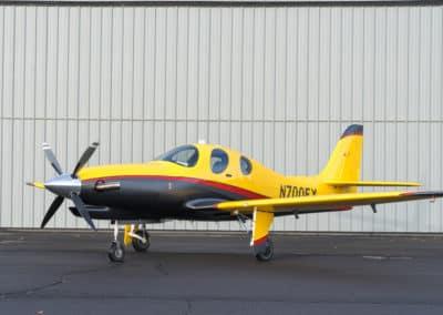 Lancair Evolution Custom Aircraft Paint Job