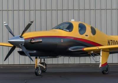 Lancair Evolution Custom Airplane Paint Job