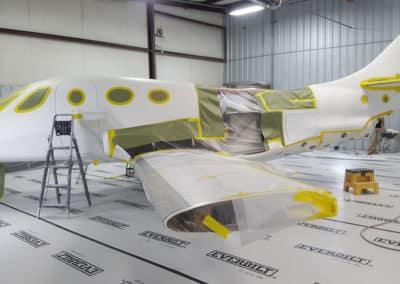 Stratos Jet Aviation Paint Job