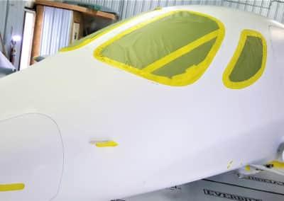 Stratos Jet Aircraft Paint Job