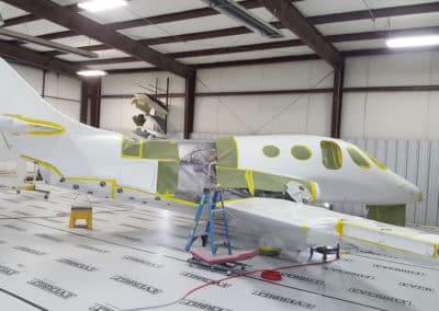 Stratos Jet Airplane Paint Job