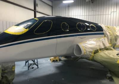 Stratos Jet Custom Aviation Paint Job
