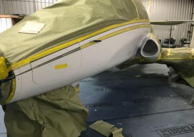 Stratos Jet Custom Airplane Paint Job