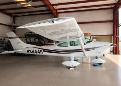 Cessna 182 Custom Aircraft Paint Job
