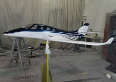 Stratos Model Custom Aircraft Paint Job