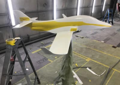 Stratos Model Custom Aviation Paint Job