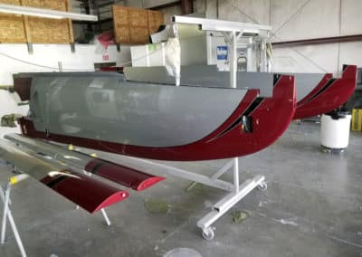 Lancair Evolution Airplane Paint Job