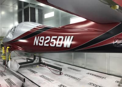 Lancair Evolution Custom Paint Job