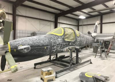 Lancair Evolution Paint Job