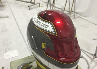Race Helmet Custom Paint Job