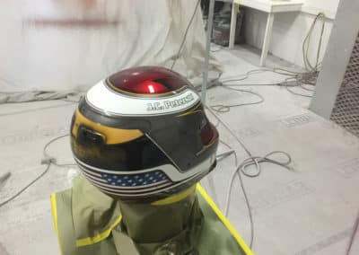 Race Helmet Paint Job